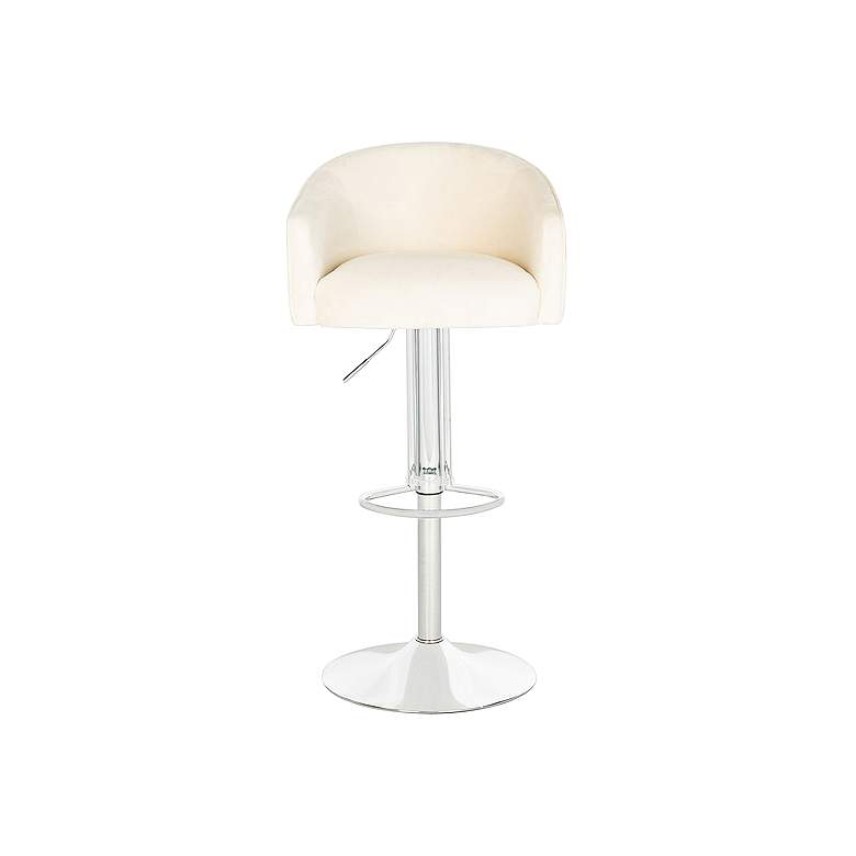 Ellsworth Creme Adjustable Barstool more views