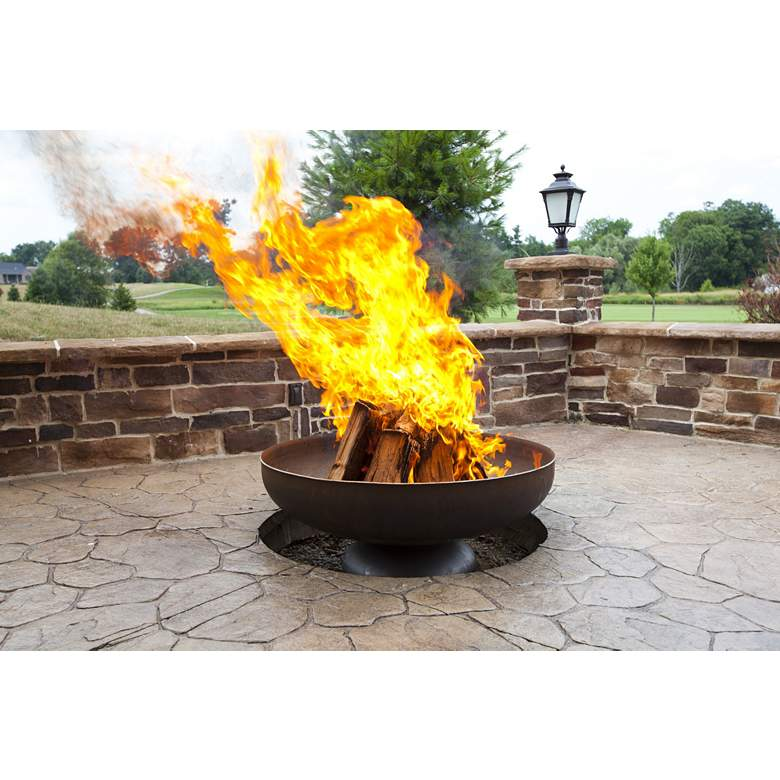 "Patriot 30"" Wide Wood Burning Fire Pit more views"