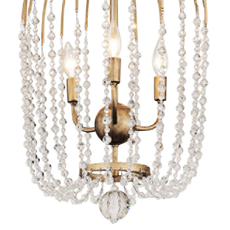 "Varaluz Voliere 14 1/2""W Havana Gold 3-Light Pendant Light more views"
