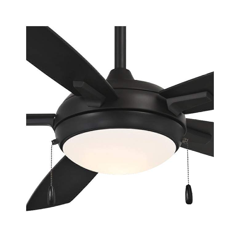 "54"" Minka Aire Lun-Aire Coal LED Ceiling Fan more views"