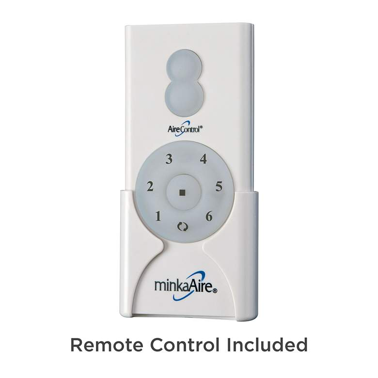 "60"" Minka Aire Aviation Soft Brass Ceiling Fan more views"