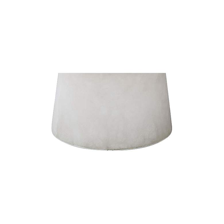 "Hazel 8 1/2"" High Natural Stone Uplight Accent Table Lamp more views"