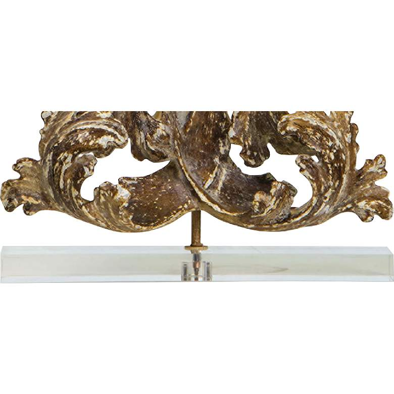 Regina Andrew Design Scroll Antique Gold Table Lamp more views