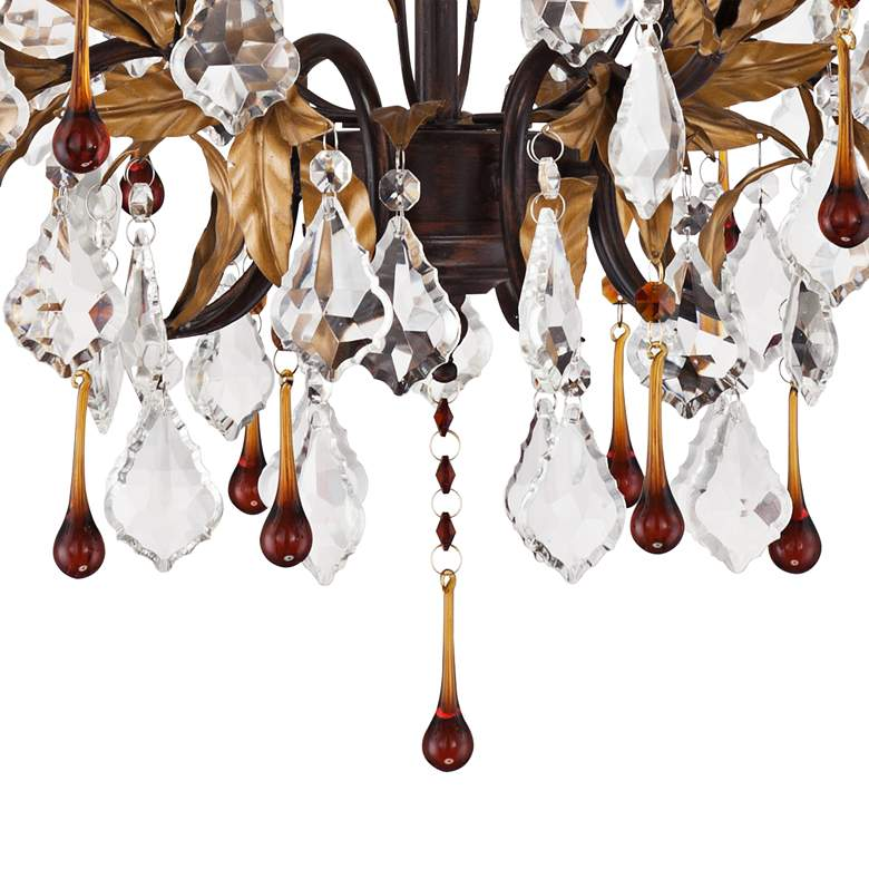 "Kathy Ireland Venezia Gold 8-Light 26"" Wide Chandelier more views"