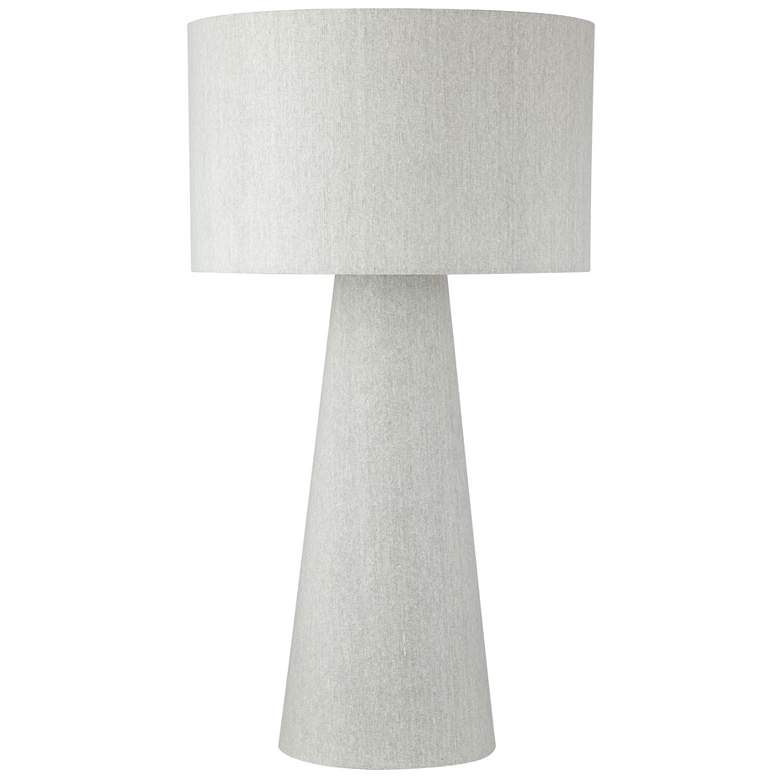 Lite Source Montebello Gray Fabric Night Light Table Lamp more views