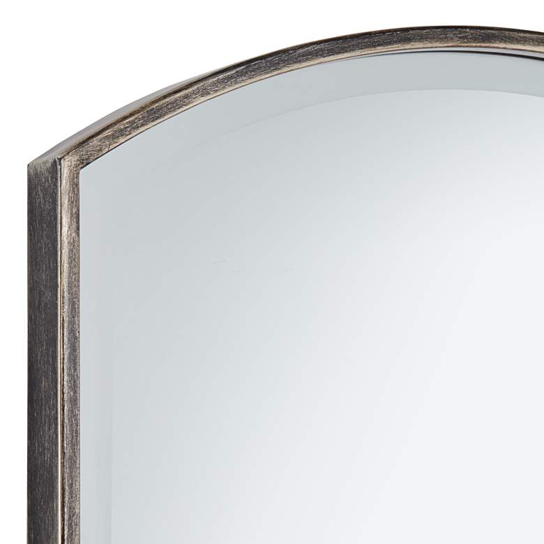 "Luther Bronze 24"" x 38"" Arched Top Wall Mirror more views"