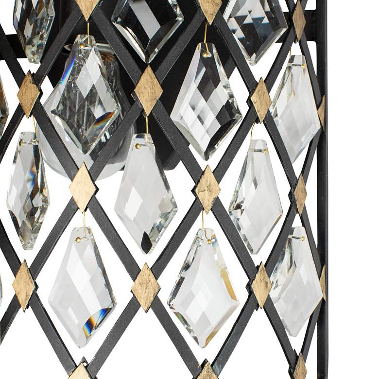 "Varaluz Windsor 21"" High Carbon and Havana Gold 2-Light Wall Sconce more views"