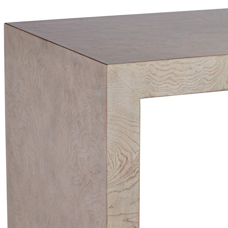 "Craig 38"" Wide Modern Gray Finish Console Table more views"