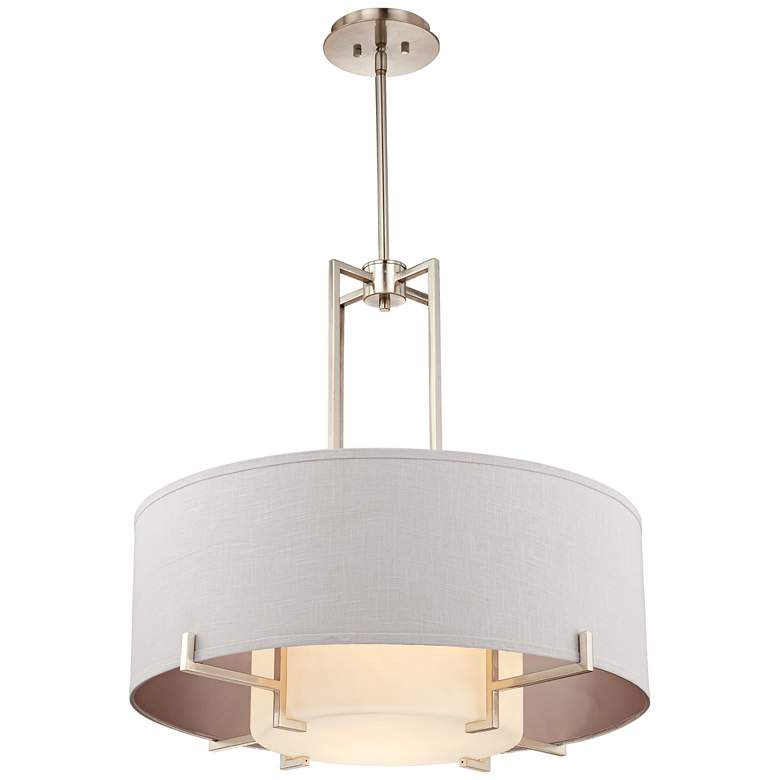 "Possini Euro Concentric Shades 29 1/4"" Wide Modern Pendant more views"