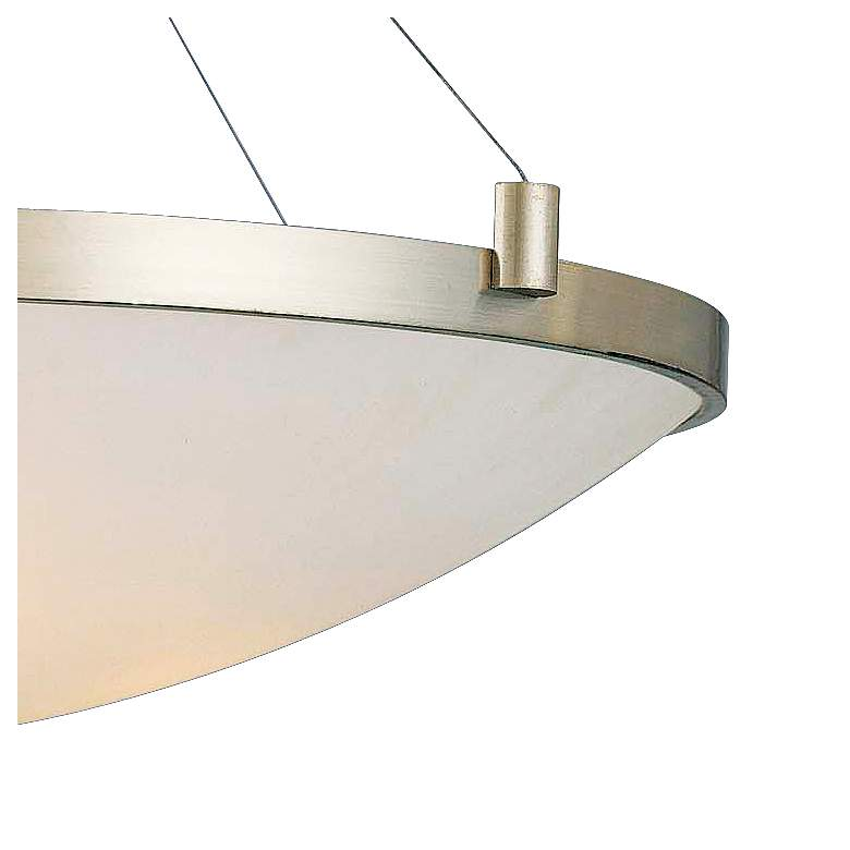 "George Kovacs Frosted Glass 34 1/2"" Wide Pendant Light more views"