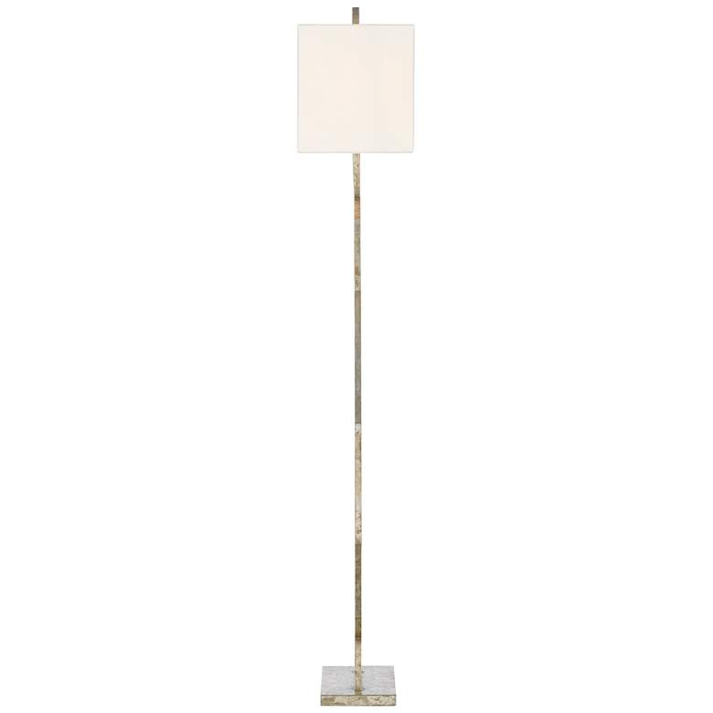Currey and Company Evelyn Pyrite Bronze Metal Floor Lamp more views