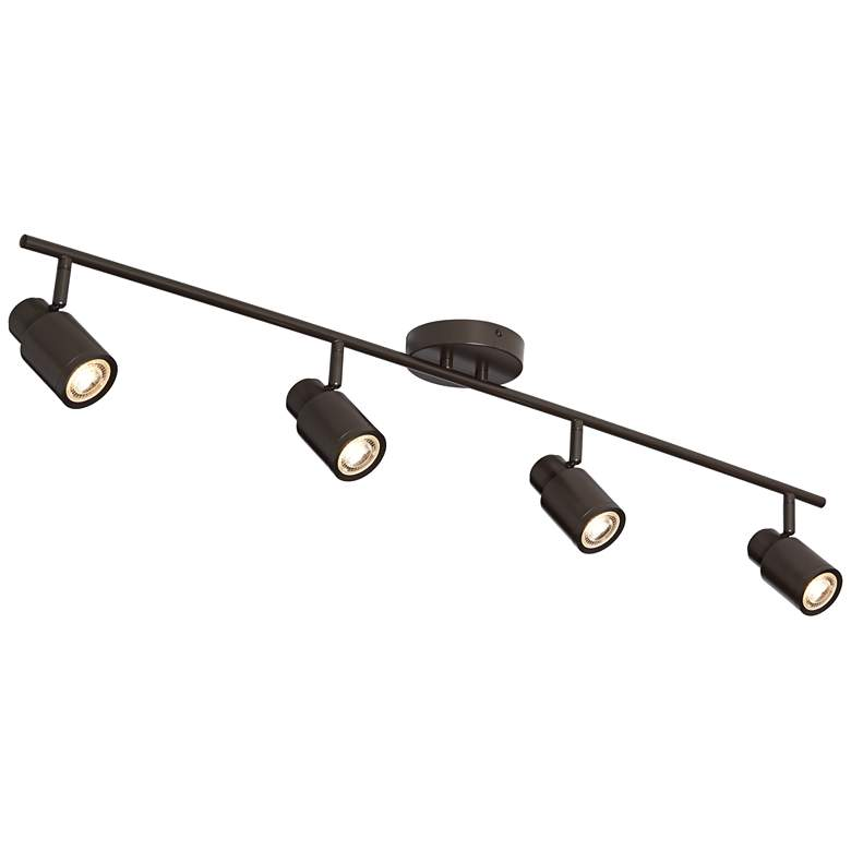 Pro Track Melson 4-Light Bronze LED Track Fixture more views