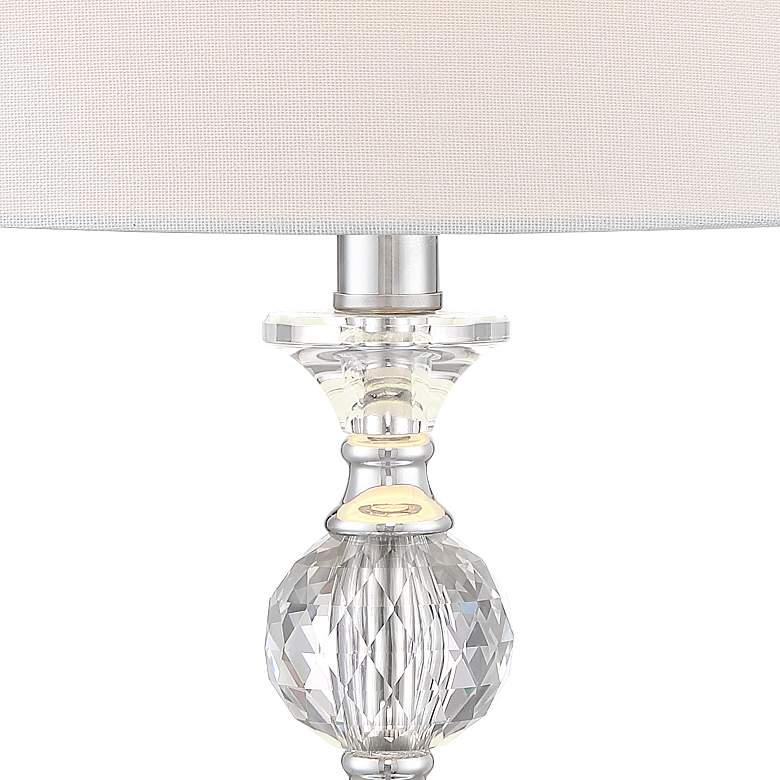 Solange Crystal Table Lamps - Set of 2 with WiFi Smart Sockets more views