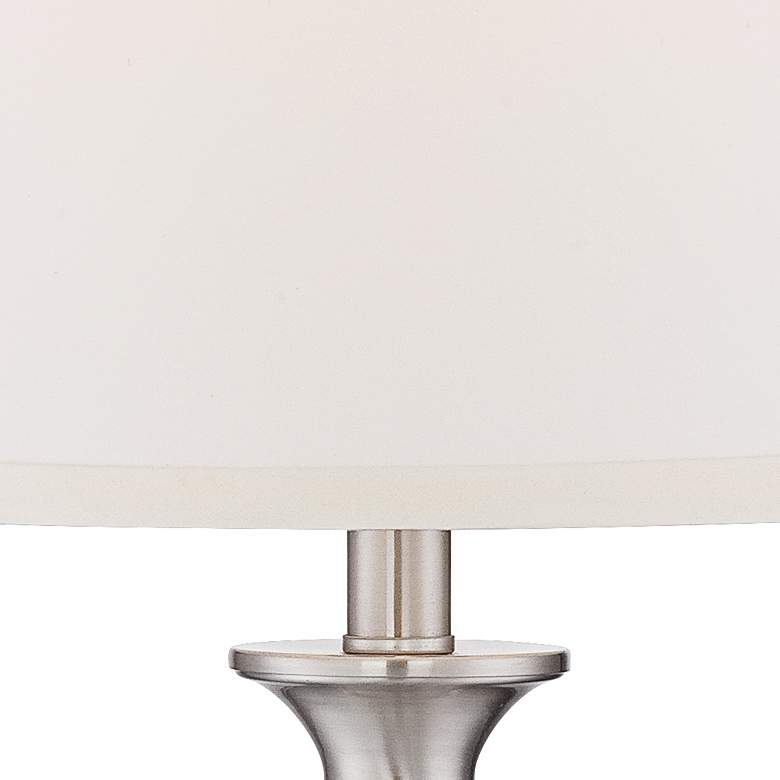 Blair Brushed Nickel Table Lamp Set of 2 with WiFi Smart Sockets more views