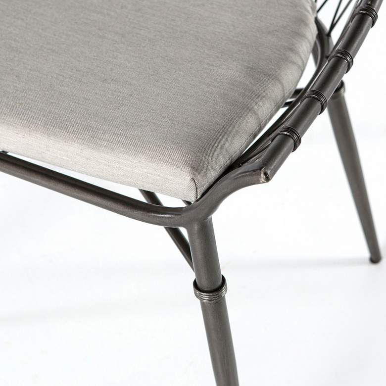 Arman Vintage Metal Outdoor Dining Chair more views