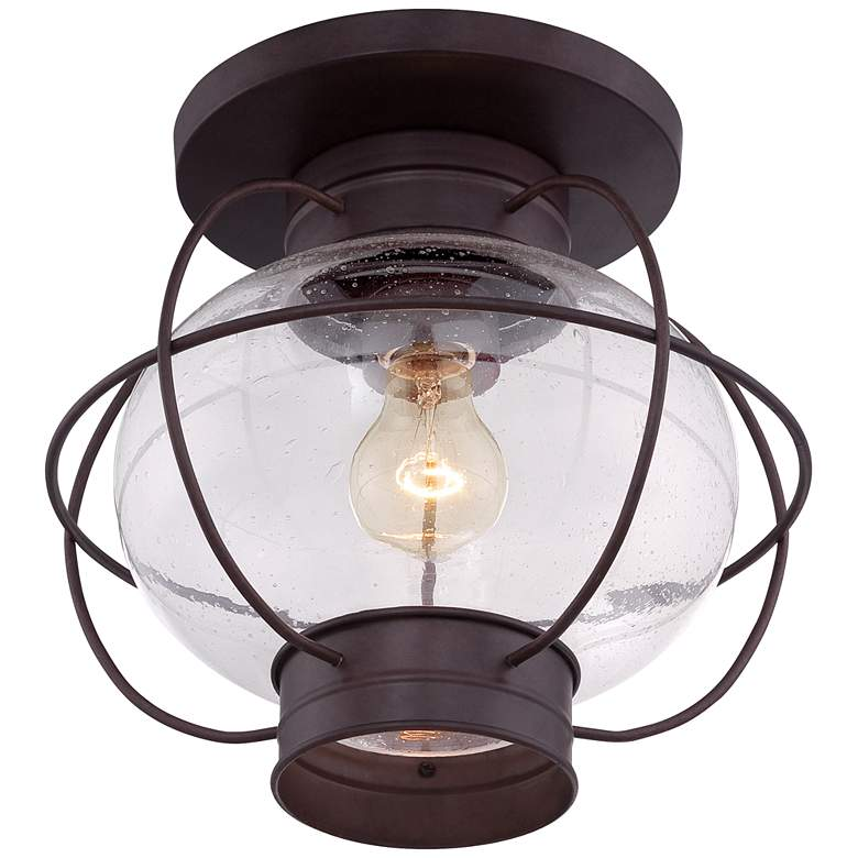 Cooper 10 1 2 H Copper Bronze Outdoor Ceiling Light
