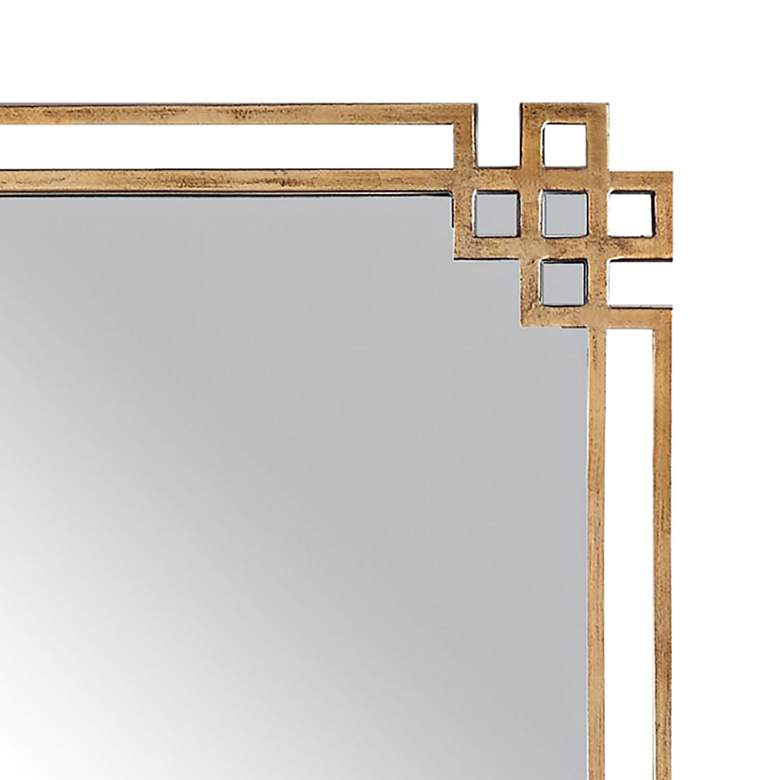 "Uttermost Devoll Gold 23"" x 36 3/4"" Rectangular Wall Mirror more views"
