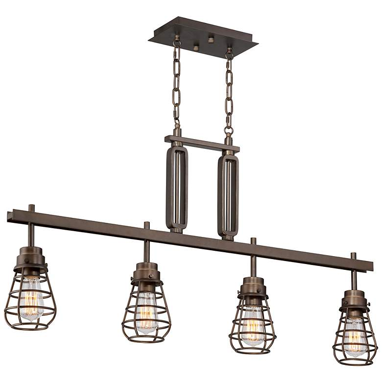 "Bendlin 40 3/4"" Wide Bronze LED Kitchen Island Light Pendant more views"