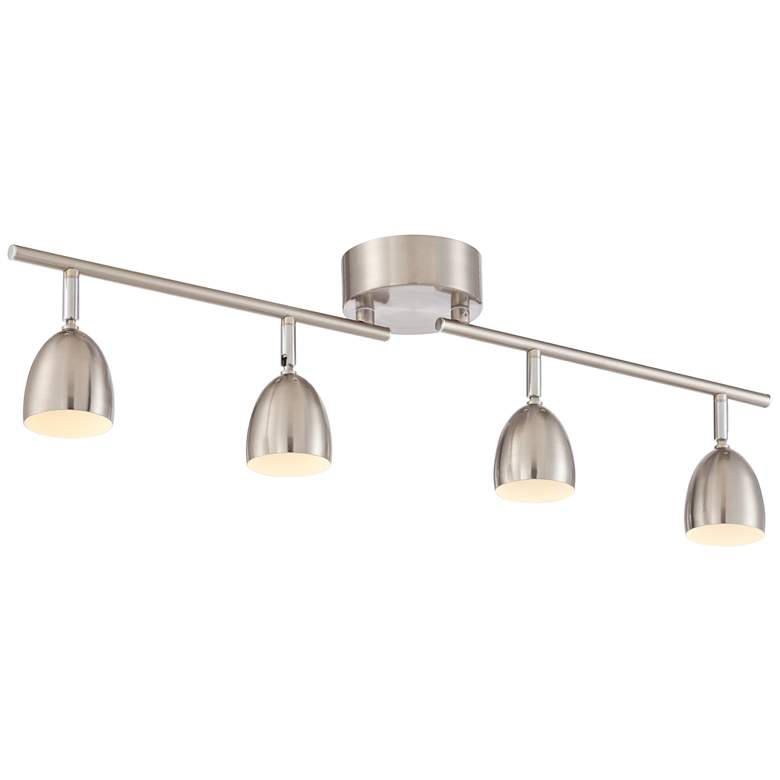 Pro Track Alexa 4-Light Satin Nickel LED Track Fixture more views