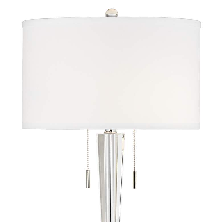 Renee Clear Crystal Glass Table Lamp by Vienna Full Spectrum more views
