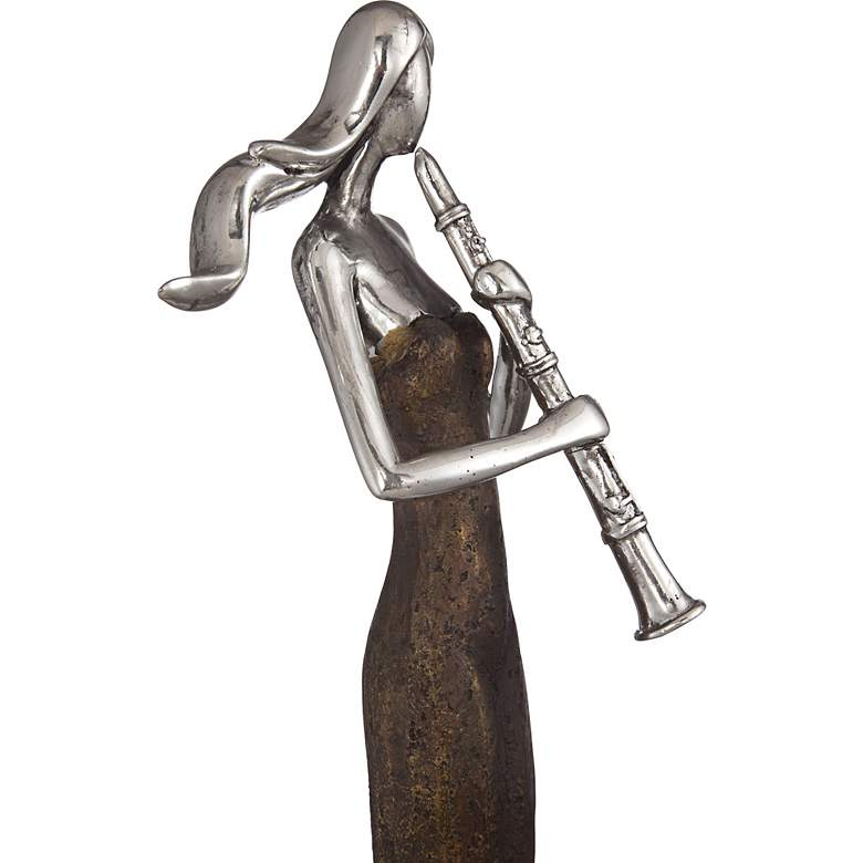"Abstract Musician 16"" High Sculpture more views"