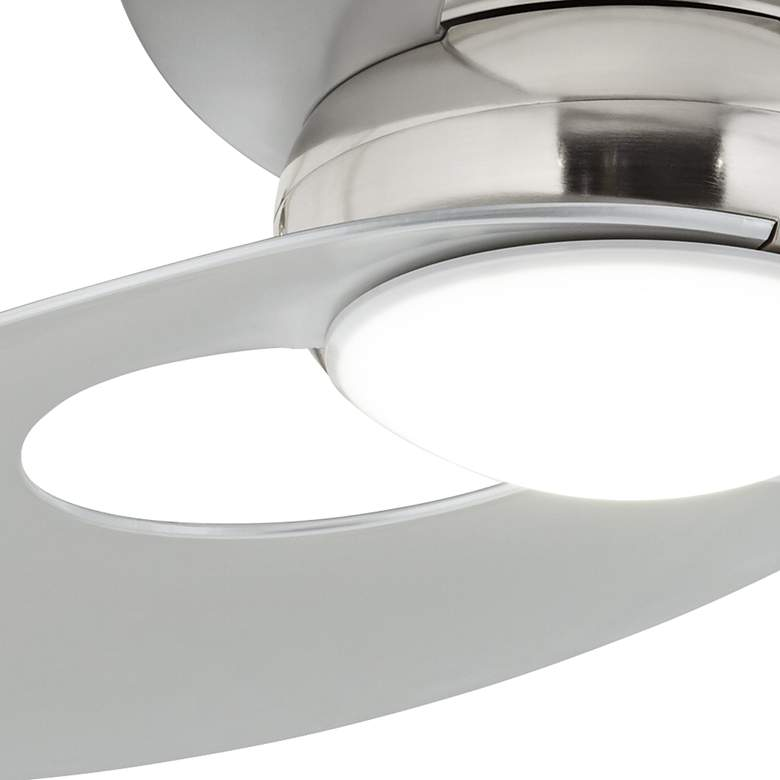 "52"" Possini Innovation™ Brushed Nickel LED Ceiling Fan more views"