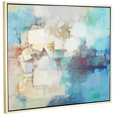 "Headlights 53"" Wide Framed Giclee Wall Art"
