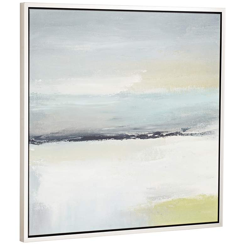 "Out to Sea Giclee 43"" Square Framed Wall Art more views"