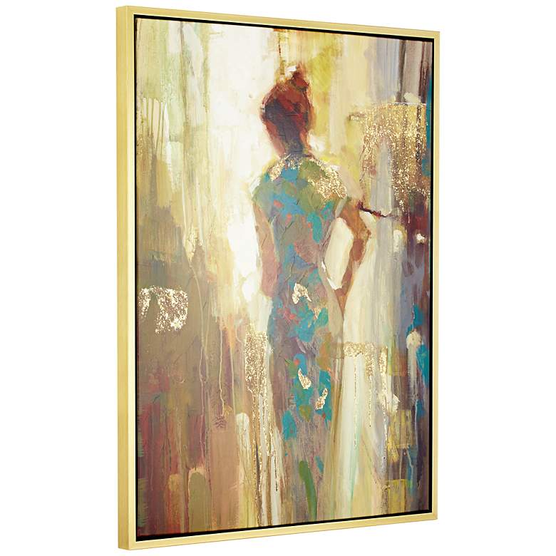 "It's Her Time Now 51"" High Framed Giclee Wall Art more views"
