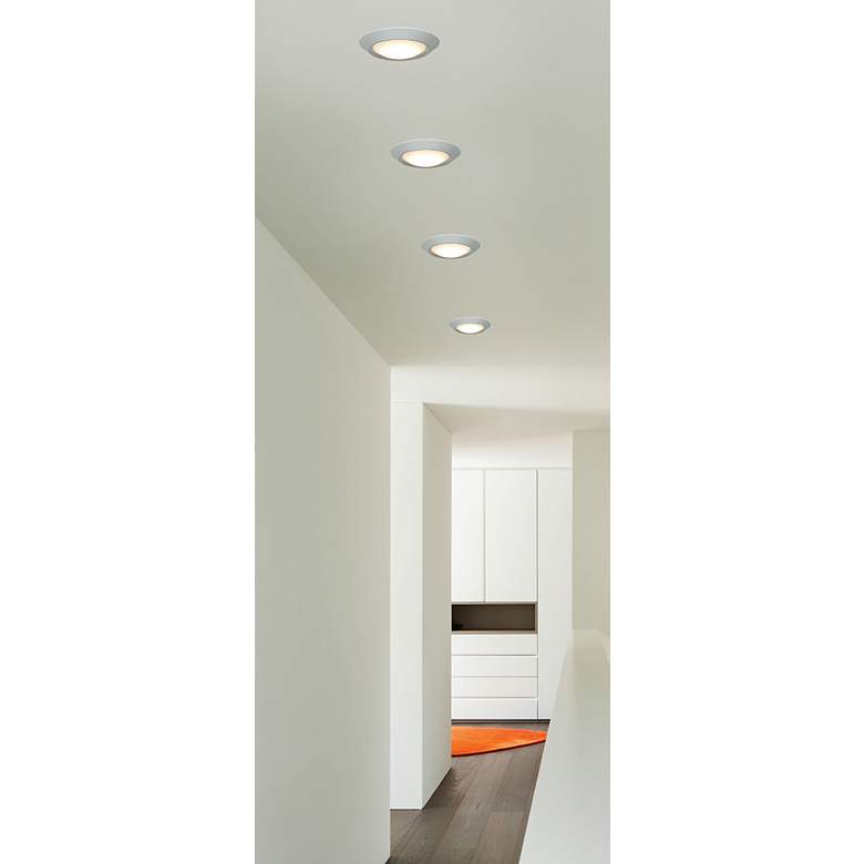"Mini White 5 1/2"" Wide 7W Surface Mount or LED Retrofit more views"