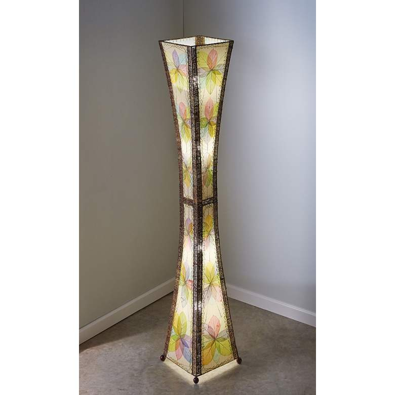 Eangee Hour Glass Multi-Color Giant Tower Floor Lamp more views