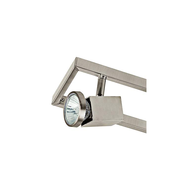 Eglo Zeraco 6-Light Architectural Nickel Track Light more views