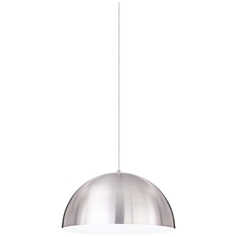 "Tech Lighting Powell Street 24""W Satin Nickel Pendant Light more views"