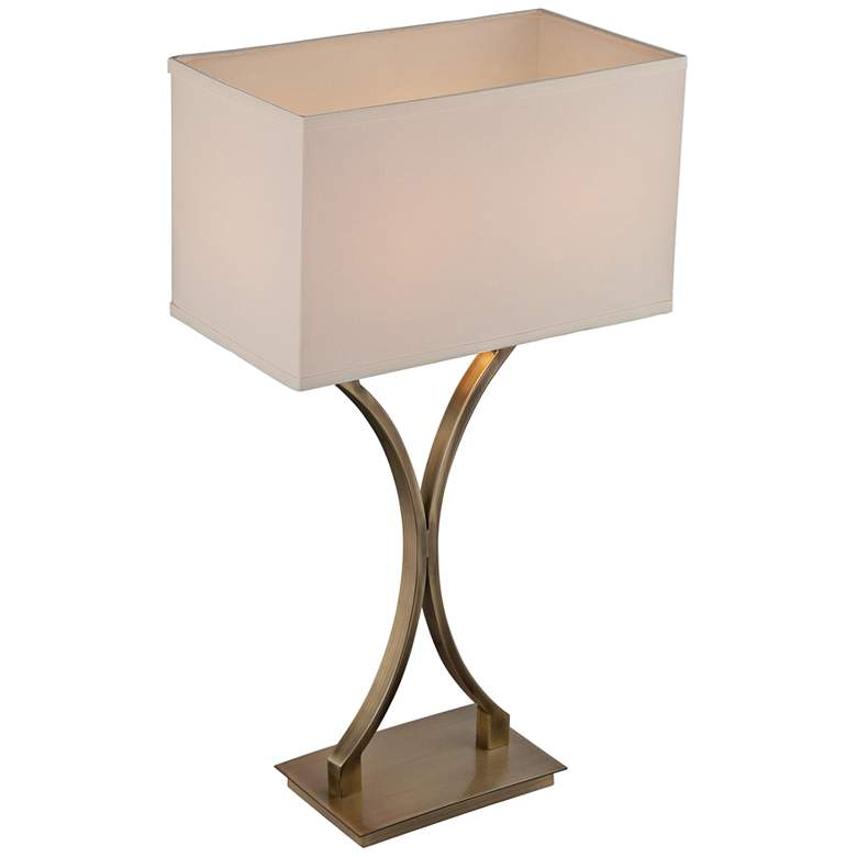 Lite Source Cruzito Antique Brass Table Lamp more views