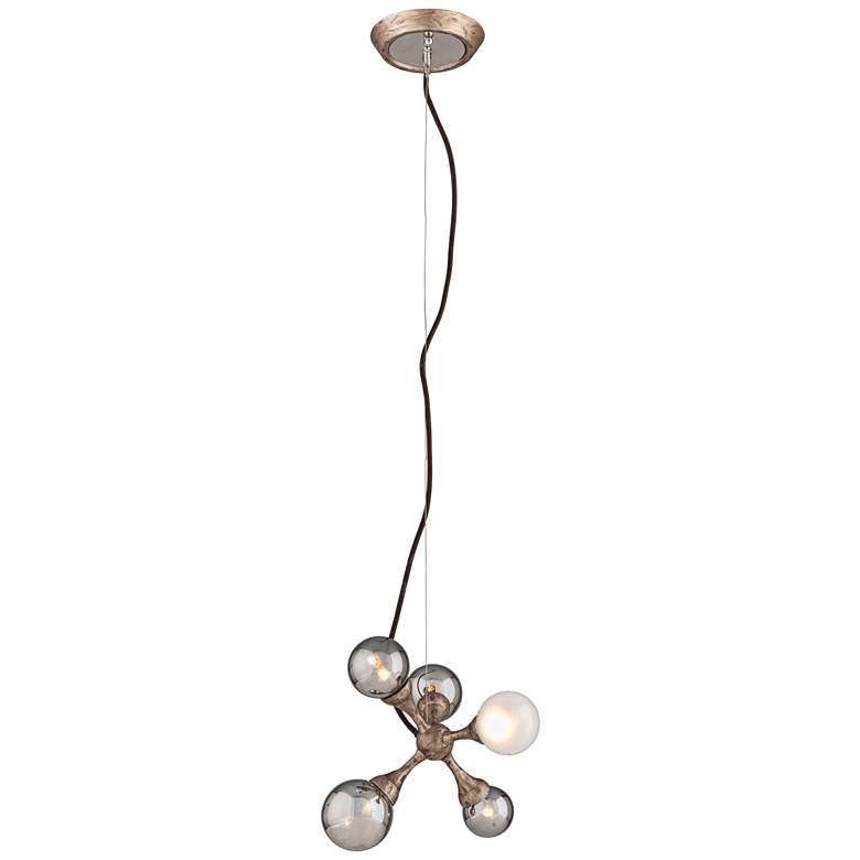 "Corbett Element 11"" Wide Vienna Bronze Mini Pendant more views"