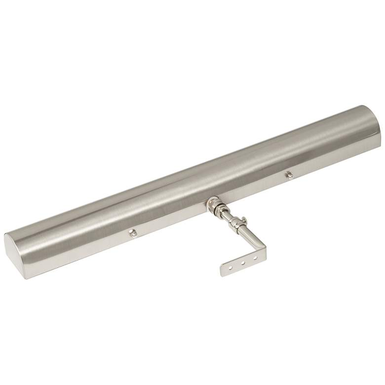 "Concept Satin Nickel 18"" Wide Battery LED Picture Light more views"