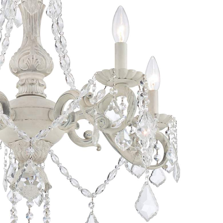 "Kathy Ireland Chateau de Conde 26"" Wide 5-Light Chandelier more views"