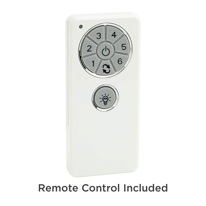 "44"" Plaza Brushed Nickel Damp Rated Ceiling Fan more views"