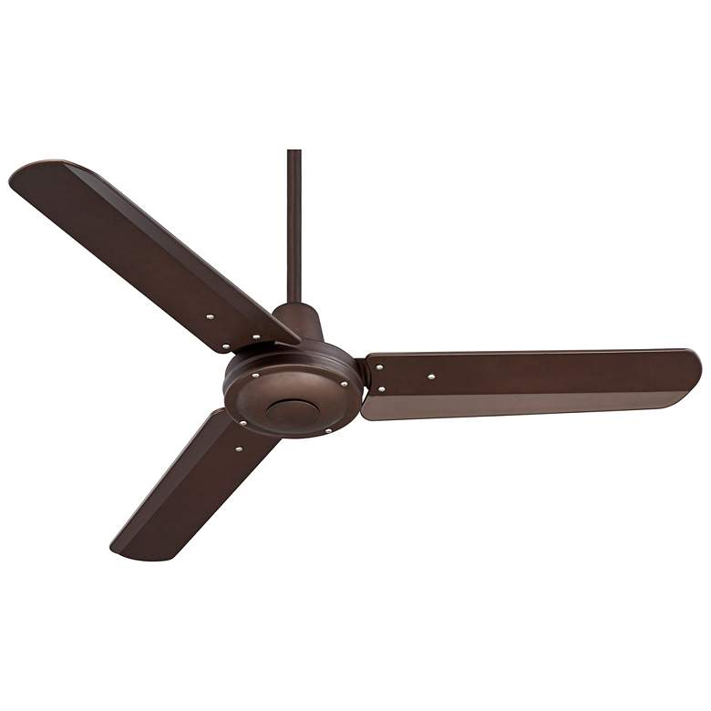 "44"" Plaza DC Oil-Rubbed Bronze Damp Rated Ceiling Fan more views"