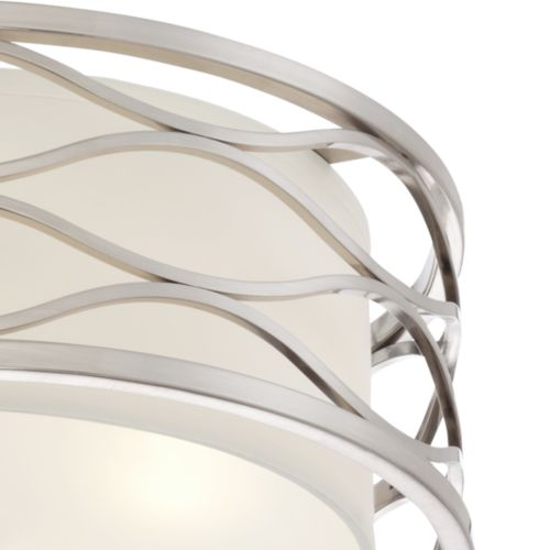 "Austen 16"" Wide Brushed Nickel Ceiling Light"