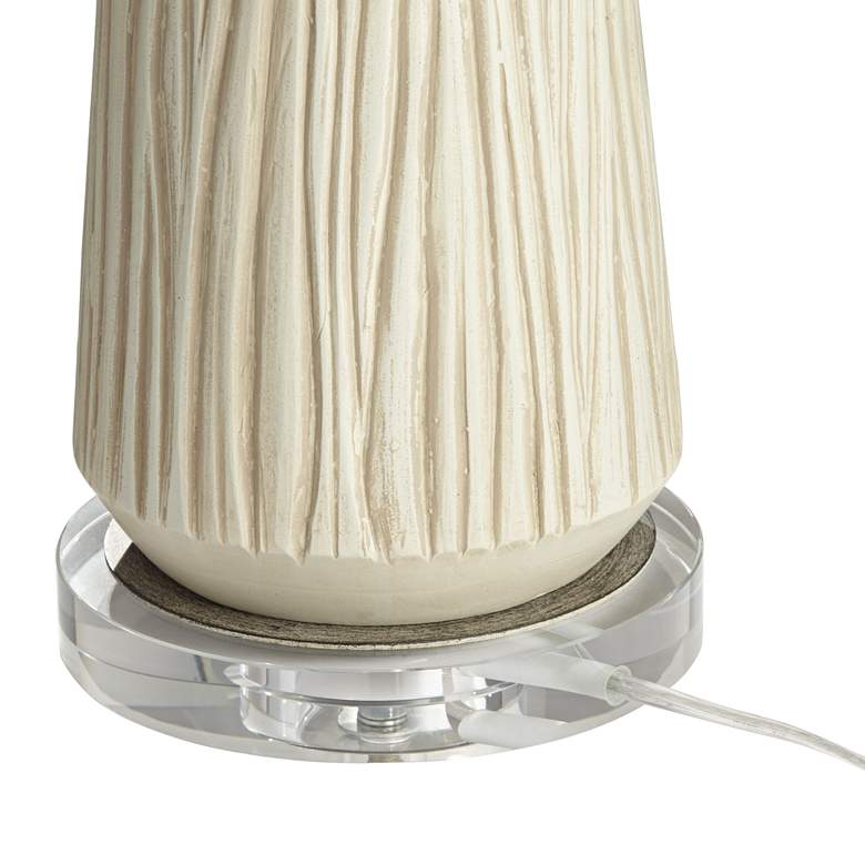West Oak Rustic Modern Table Lamp more views