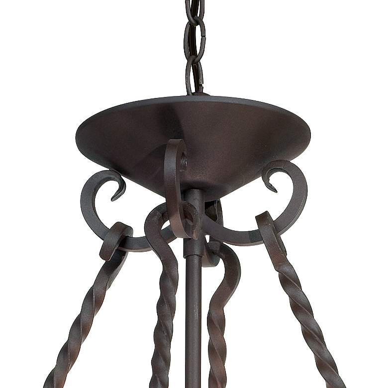 "Natural Mica Collection 17"" Wide Pendant Chandelier more views"