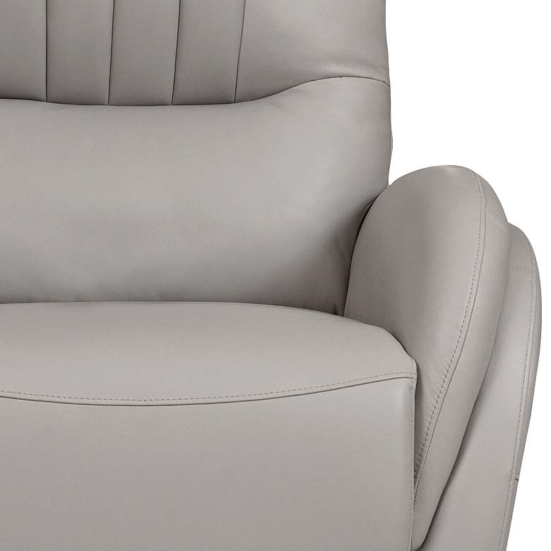 Italy Cream Power Lift USB Recliner with Lumbar Support more views