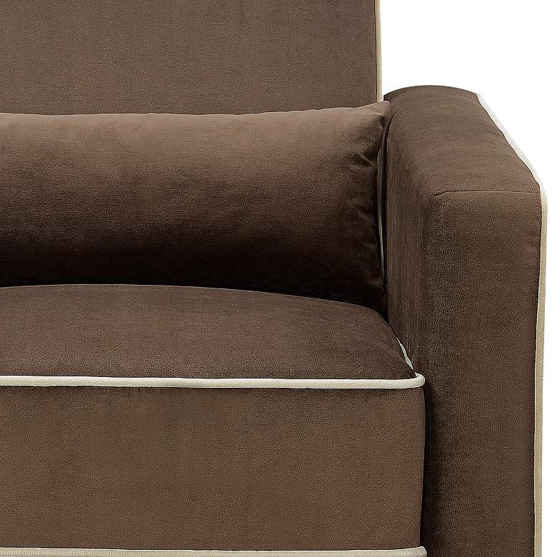 Stella Coffee Brown Multi-Function Swivel Glider Recliner more views