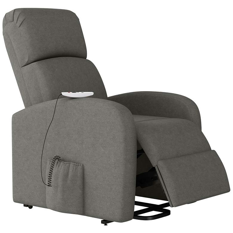 ProLounger Recline Lift Chair with Heat Massage in Pewter more views