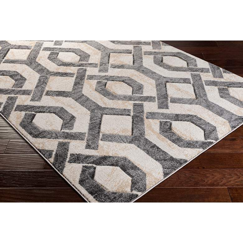 "Surya Westham WHA-2312 5'2""x7' Gray and Ivory Area Rug more views"