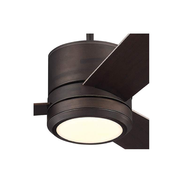 "56"" Monte Carlo Vision Max Roman Bronze Outdoor LED Ceiling Fan more views"