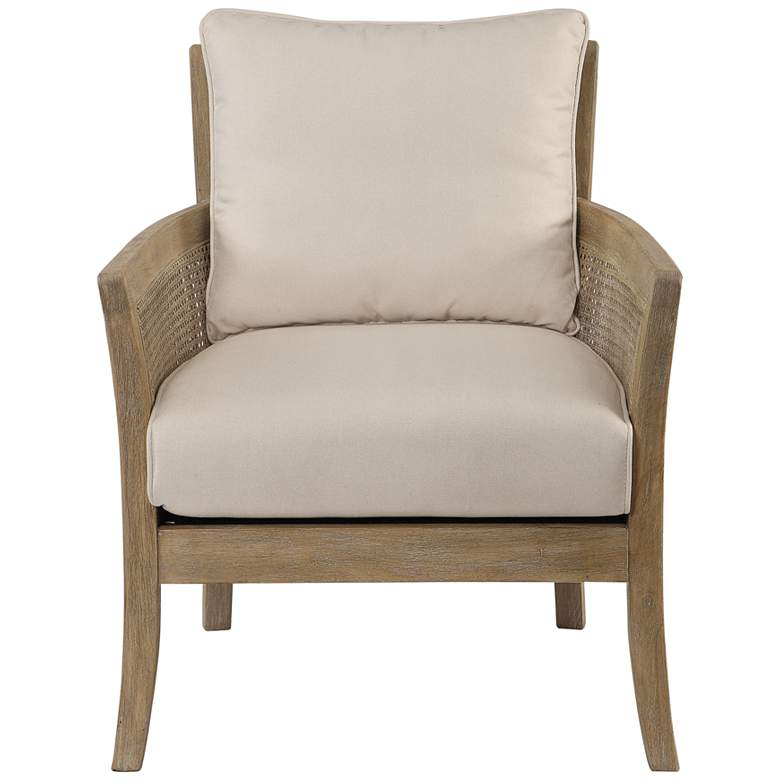 Uttermost Encore Natural Rattan Armchair more views