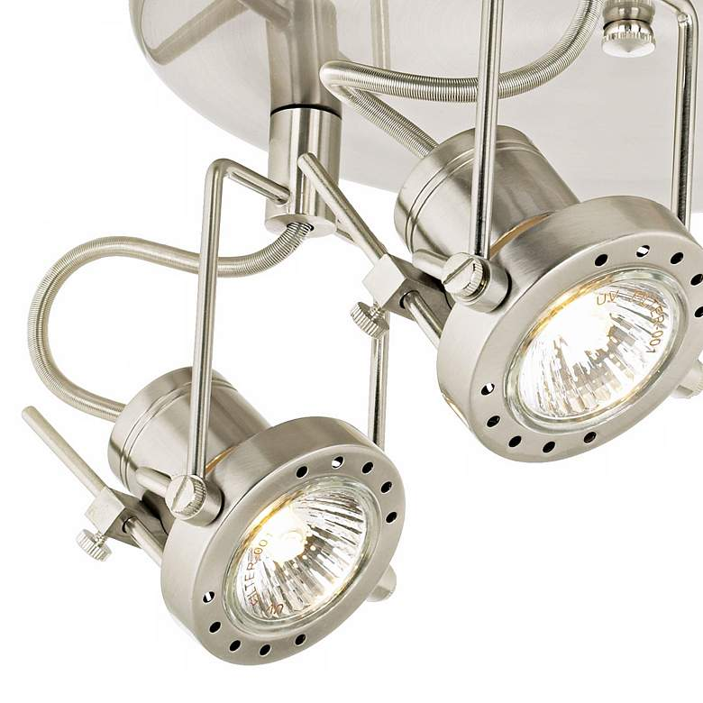 Pro Track 150 Watt Halogen Three Light Ceiling Light ...