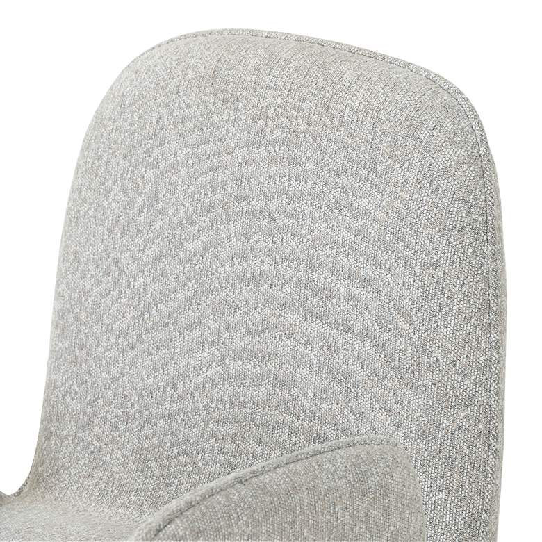 Trevor Elder Sable and Aluminum Swivel Desk Chair more views